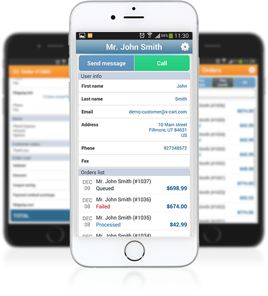 Mobile Admin app to manage your online store