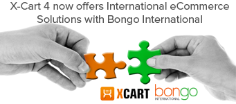 X-Cart integrates with Bongo International to increase international conversions