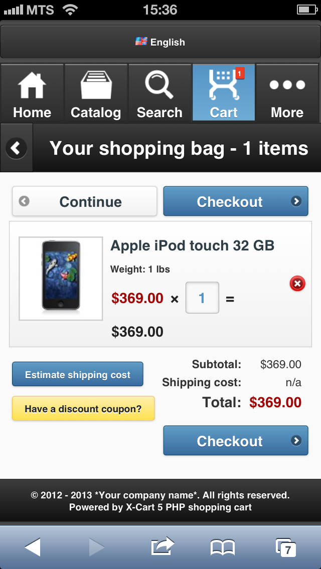 iPhone-add to cart