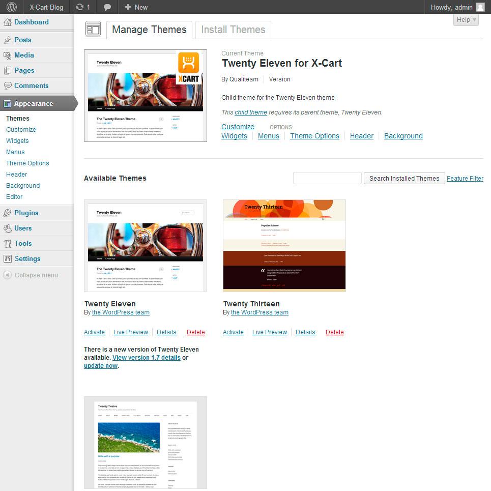 how to add key words to wordpress site