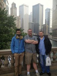 Tony, Mike and Alex in Chicago