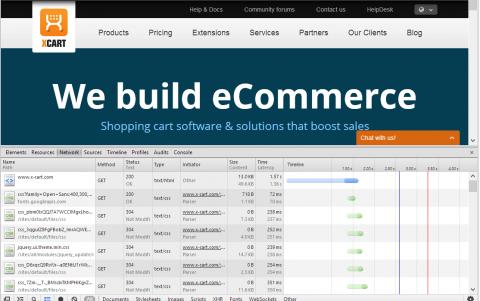 Developer Tools in Google Chrome