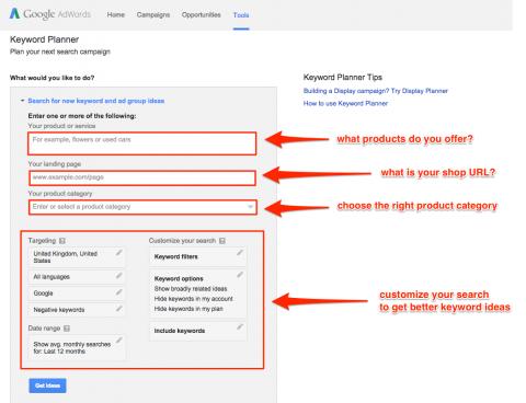 Basic Keyword Research With Google Keyword Planner
