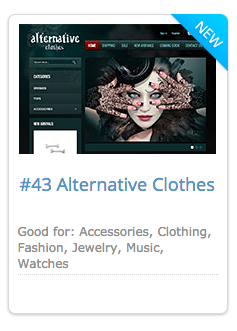 #43 Alternative Clothes