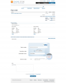 Fast lane checkout credit card form