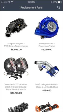 Auto parts 3