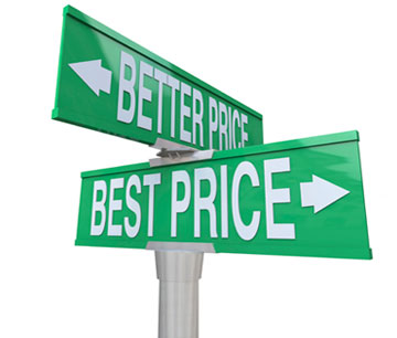 Sign to a better price