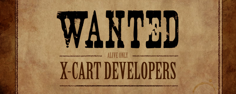 X-Cart lists developers on the website