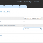 Mailchimp Module Settings