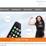 x-cart homepage