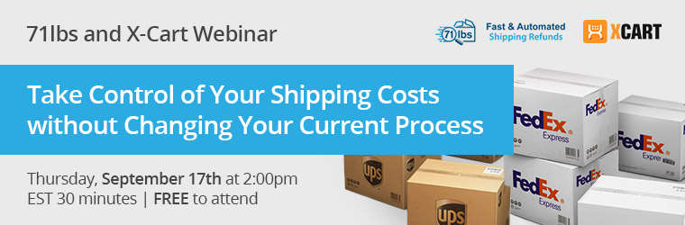 Webinar video: Take Control of Your Shipping Costs (with Jose Li from 71 Lbs)
