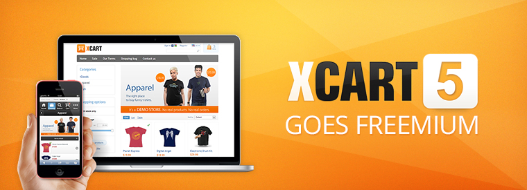 X-Cart 5 goes Freemium with the release of v.5.1