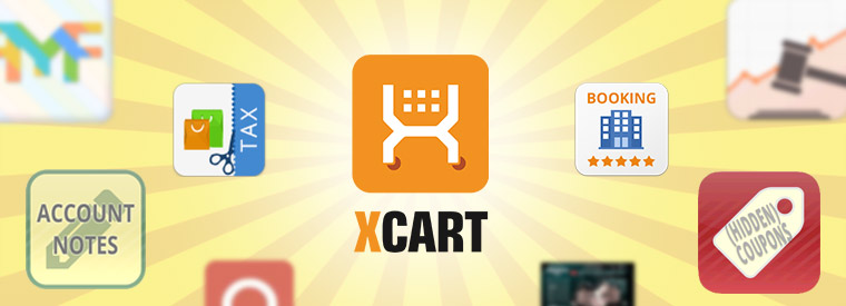 New X-Cart 5 modules and design templates by X-Cart team and partners: Account Notes, Hidden Coupons, Auction, Booking, Tax Exempt and more