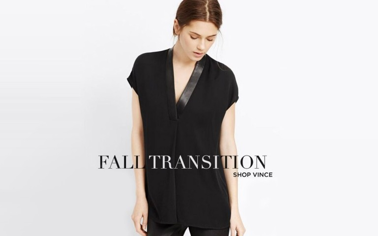 Fall Transition: Shop Vince