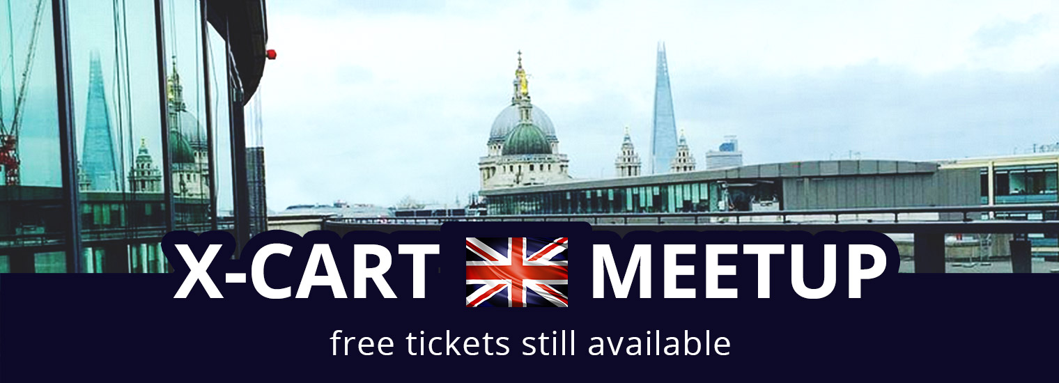 X-Cart London Meetup: place, speakers and agenda – ready! What about you?