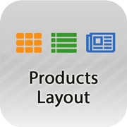 Products Page Layout
