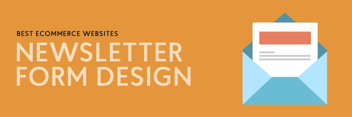 Email Newsletter Form Designs