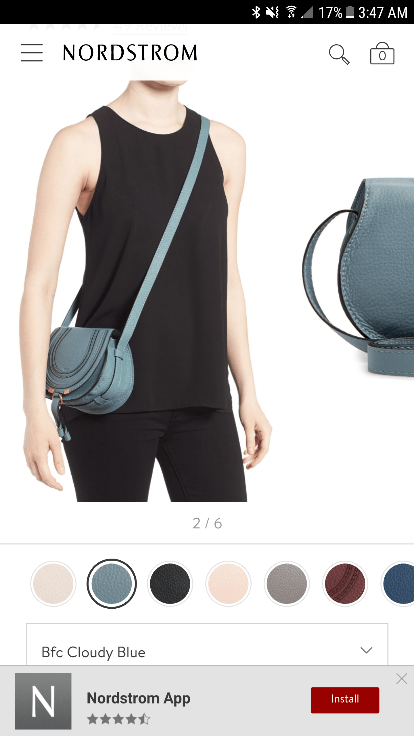 Nordstrom's Real-Time Mobile Product Customization