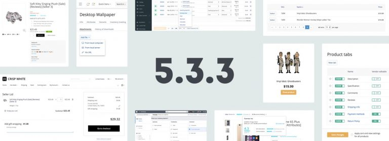 X-Cart 5.3.3:  Renewed Orders and Catalog Management, Design Tools, E‑goods and Multivendor