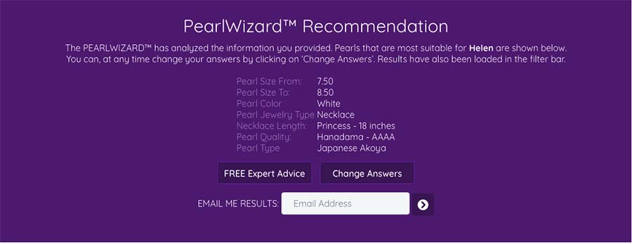 PearlsOnly Wizard