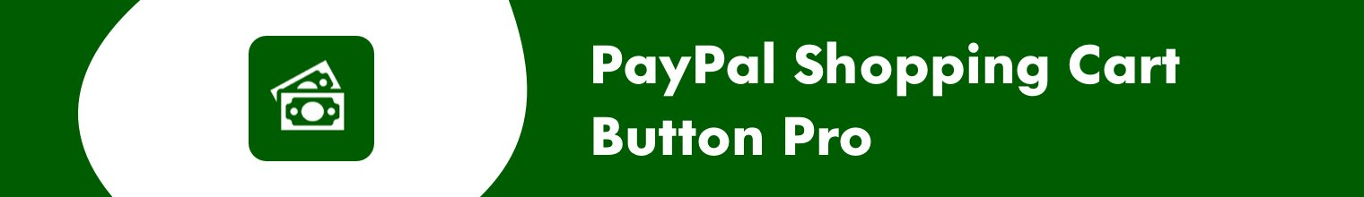 PayPal Shopping Cart Button Pro