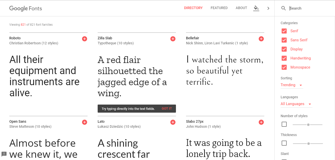 how to use google web fonts in html