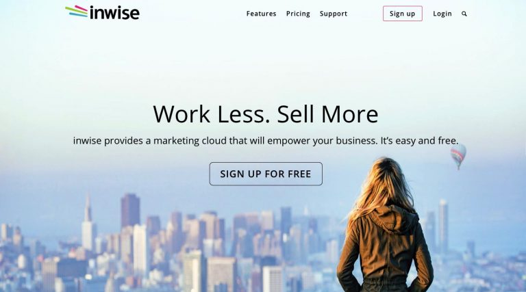 Inwise email marketing software