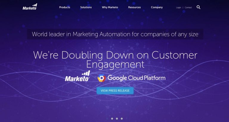 Marketo email marketing software