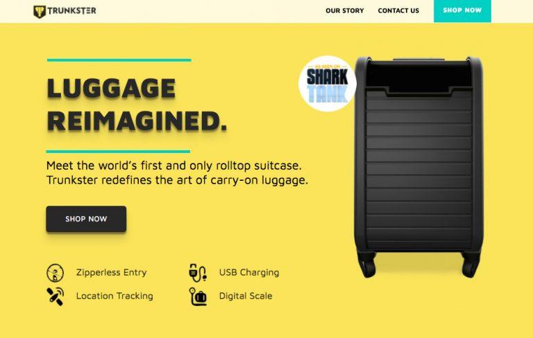 Trunkster website color