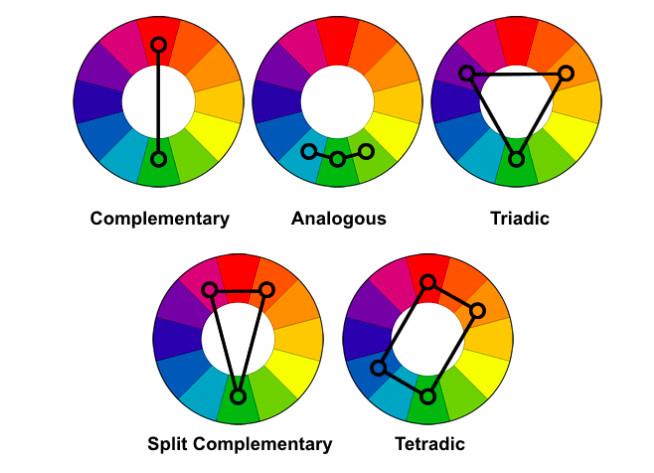 Main Color Schemes