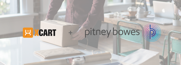 X-Cart Partners with Pitney Bowes to Help You Save on USPS Rates and Better Meet Customer's Delivery Expectations