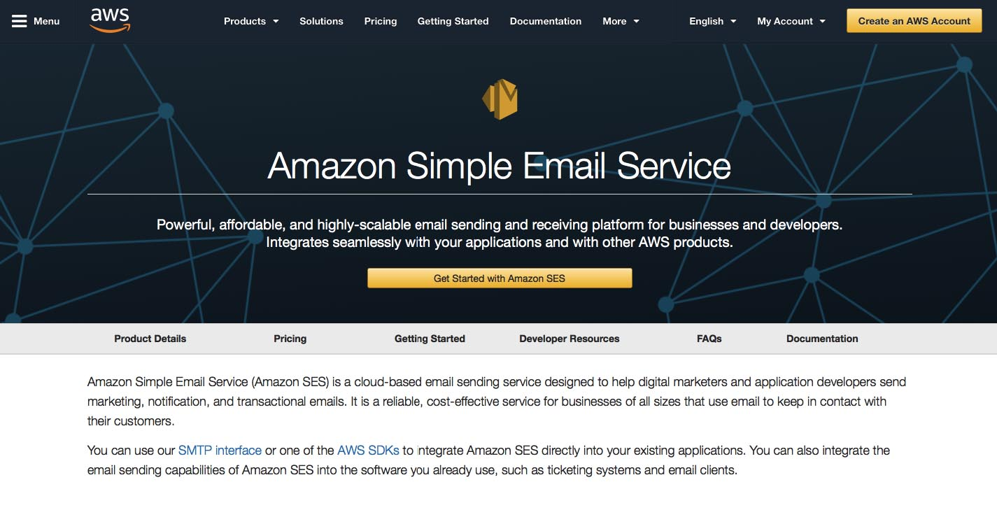 Amazon Simple Email Service