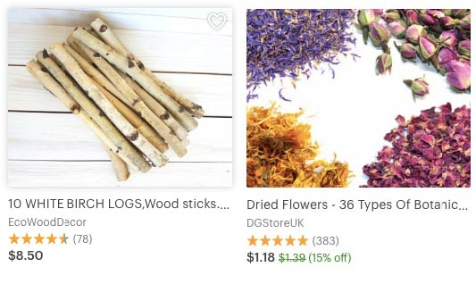 Craft tools on Etsy