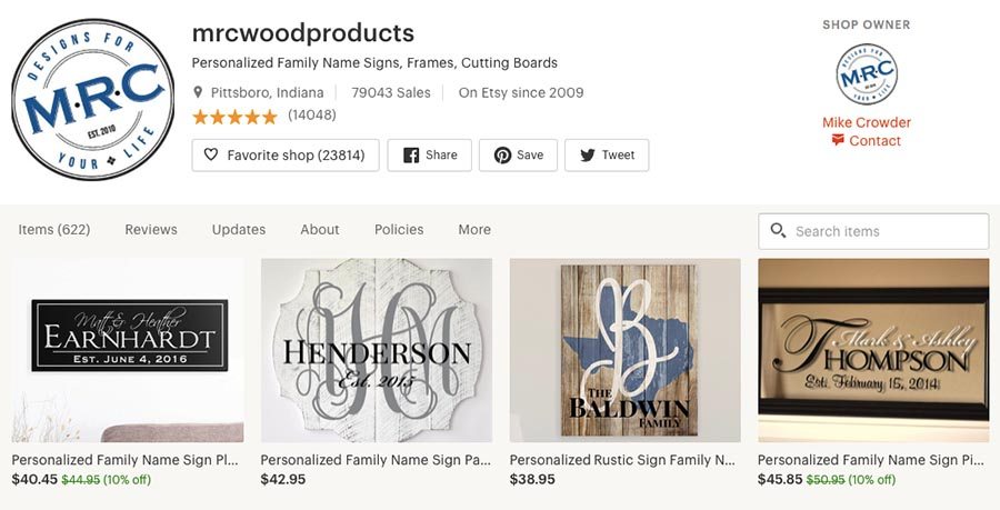 MRC woodproducts. Men selling on Etsy