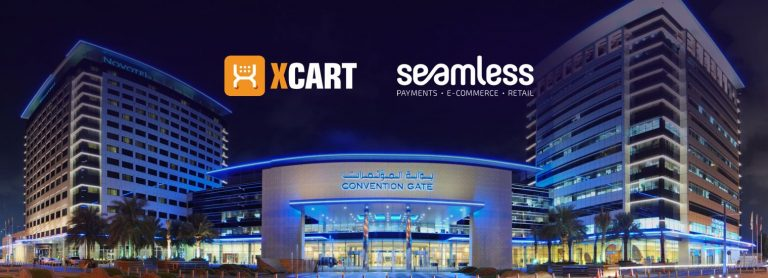 X-Cart Team at Seamless Middle East in Dubai on April 15-16