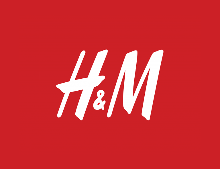 H&M logo design