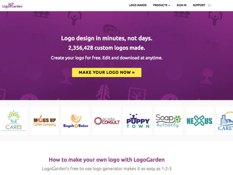 Logogarden logo maker