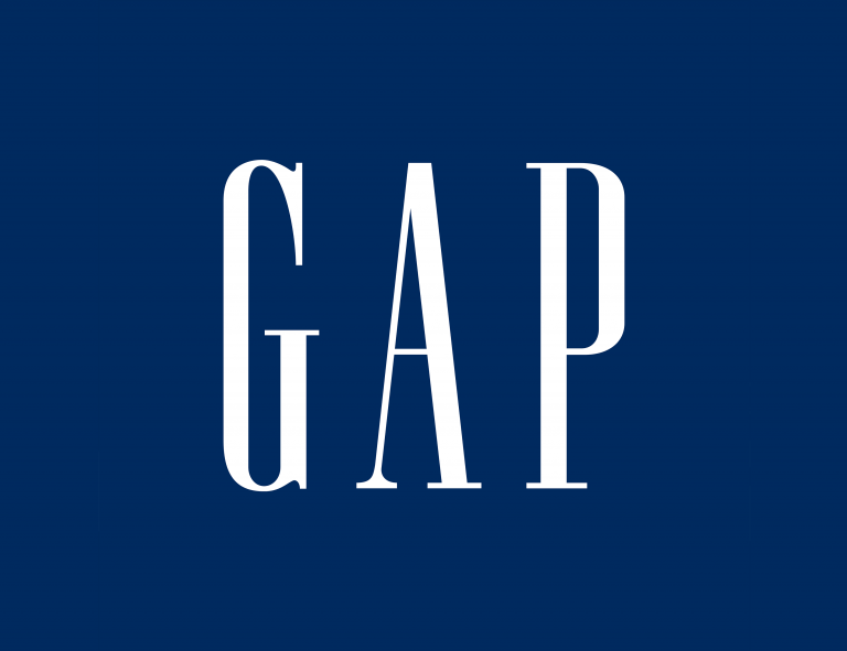 Gap brand logo design