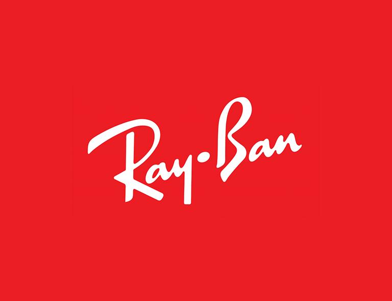 RayBan brand logo design