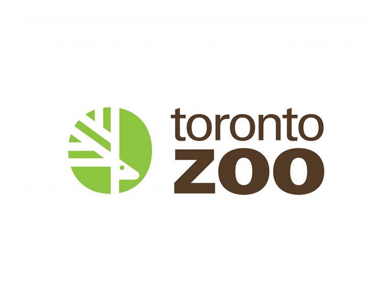 Toronto Zoo brand logo design