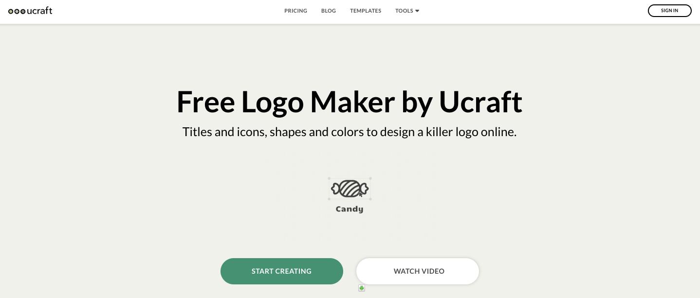 Ucraft brand maker