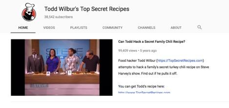 Todd Wilbur's