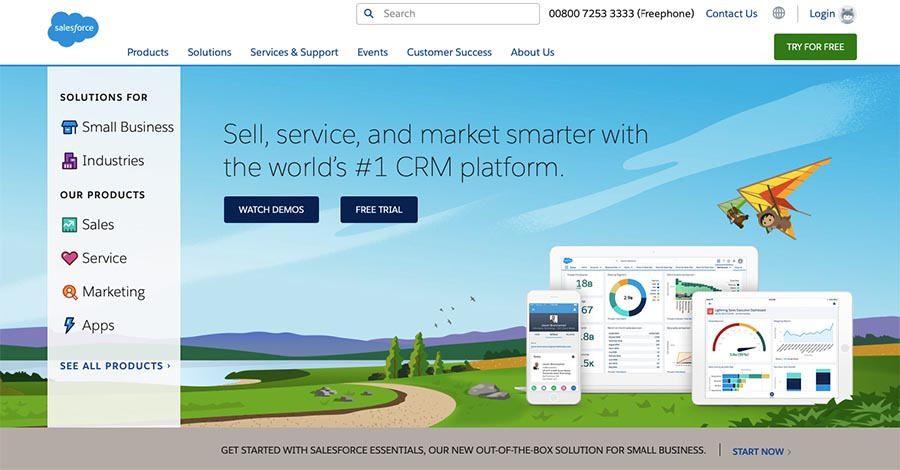 Salesforce email marketing software