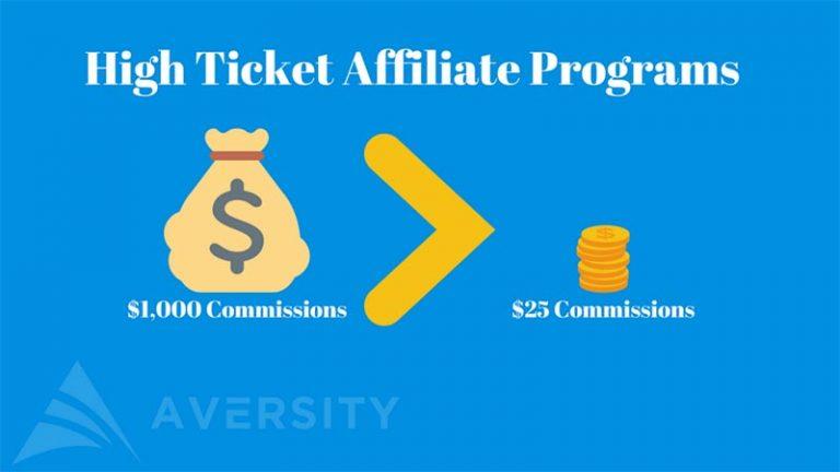 High-ticket affiliate program