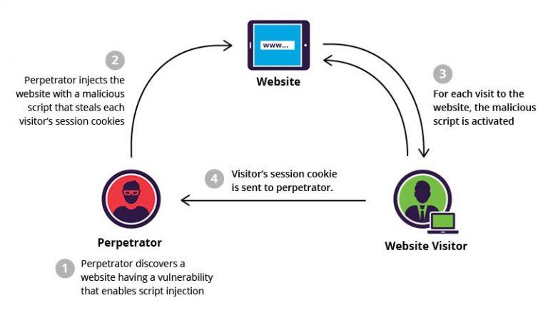 Wordpress cross site scripting