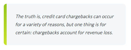 Credit card chargebacks
