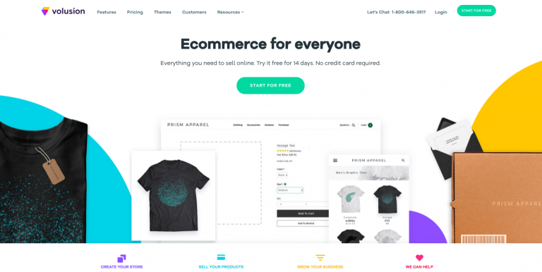 Volusion e-commerce website builder