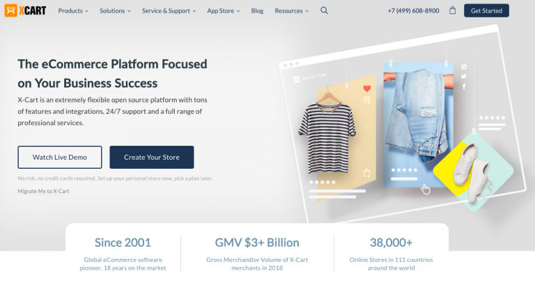X-Cart eCommerce Website Builders
