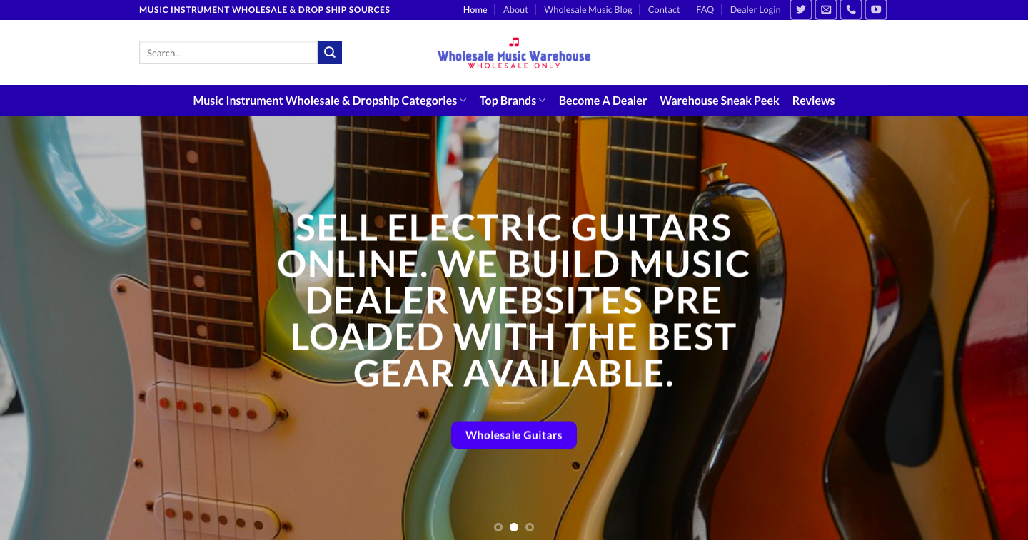 Music Instrument Wholesale