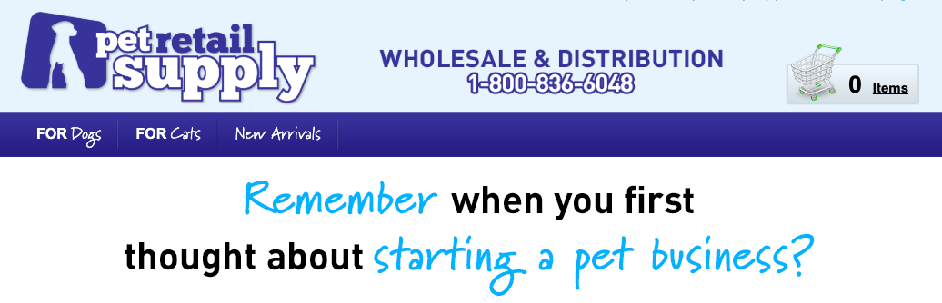 Pet Supply Distributor